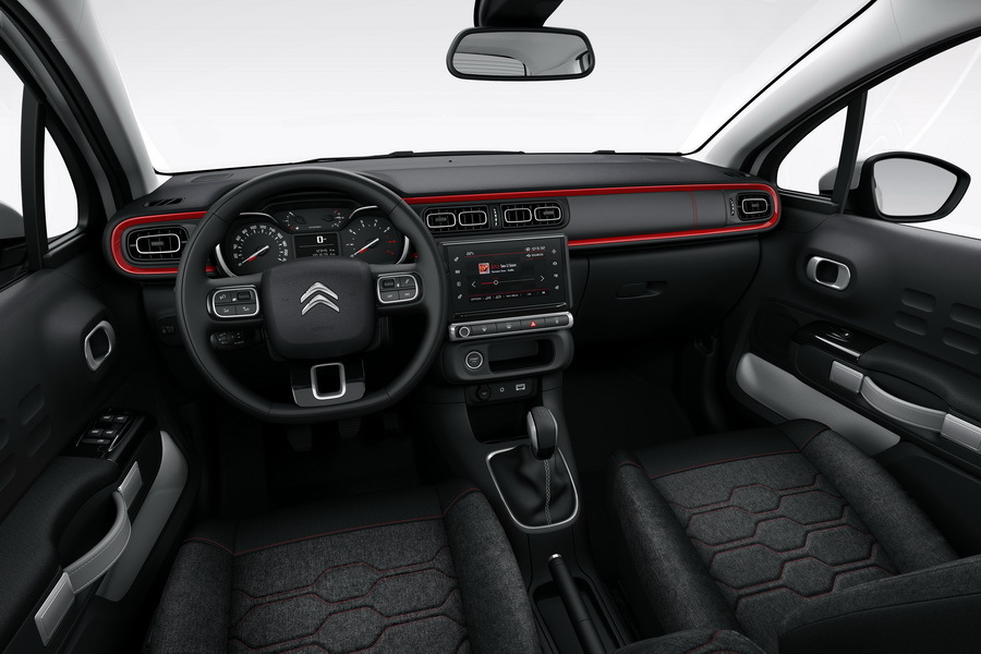 c3 version 2016 interieur
