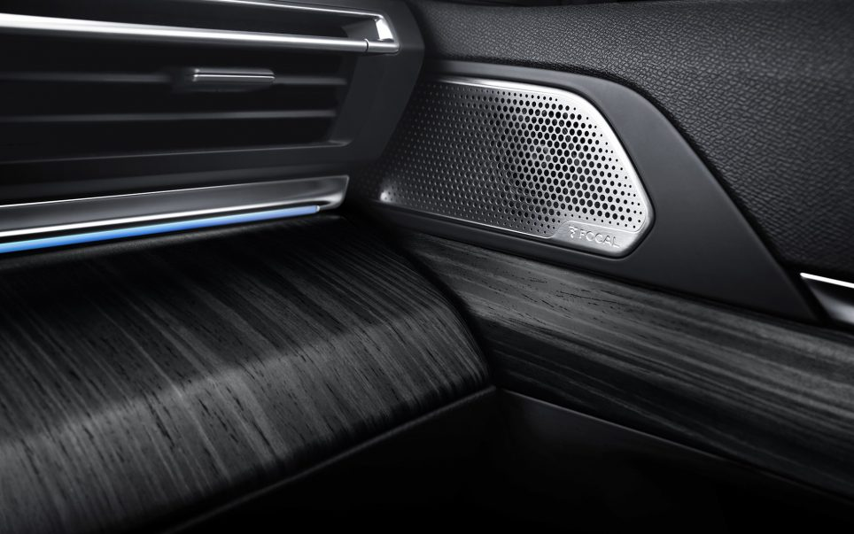 Nouvelle Peugeot 508 : audio FOCAL