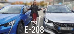 L'équipe Marketing d'AutoJM a testé la e-208