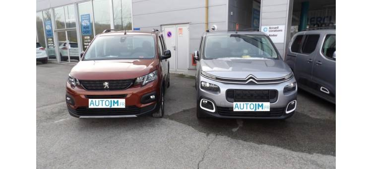 Battle du mois : Peugeot RIFTER VS nouveau Citroën Berlingo
