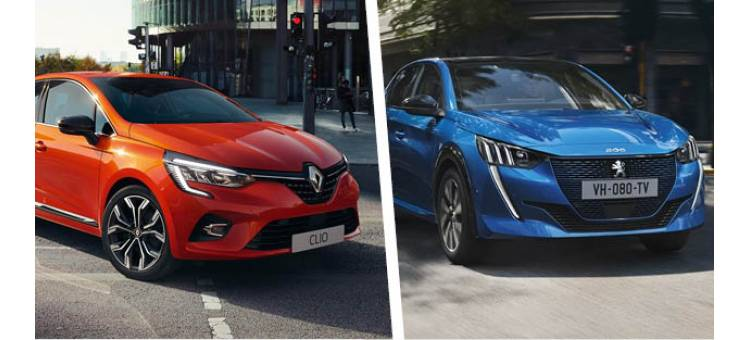 Clio 5 VS nouvelle 208 : le match