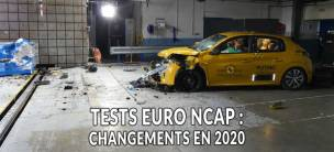 Test EuroNCAP : modifications en 2020