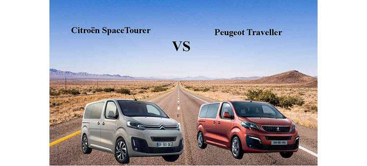 Citroën Space Tourer VS Peugeot Traveller : les combis jumeaux