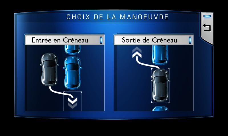 Le Park Assist disponible sur Peugeot 208